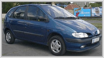 ???? ?????? Renault Scenic 1.6 AT