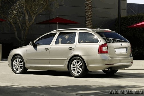?????? ?????? Skoda Octavia Combi 1.4 AT 122 Hp