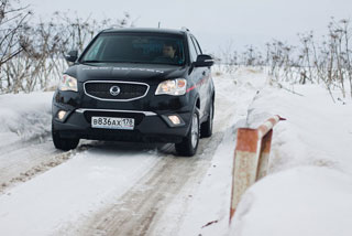 тест-драйв ssangyong new actyon